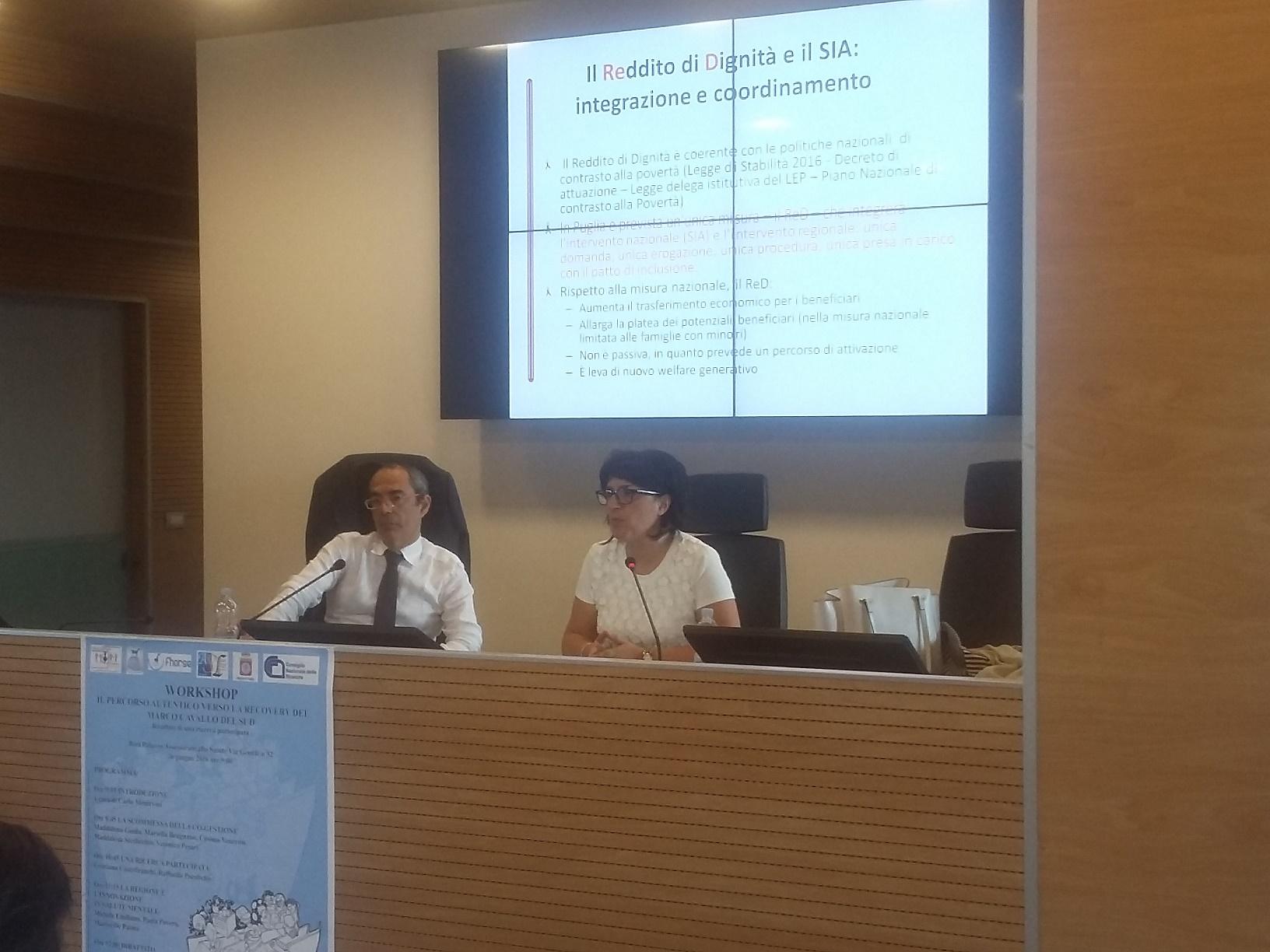 Si ¨ svolta a Bari presso la sede della Regione Puglia la Cabina di Regia con i rappresentanti degli uffici di piano al centro del dibattito la lotta alla